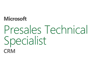 Microsoft Presales Technical Specialist CRM